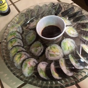 Cali Rolls for Roxie's New Year's Party!